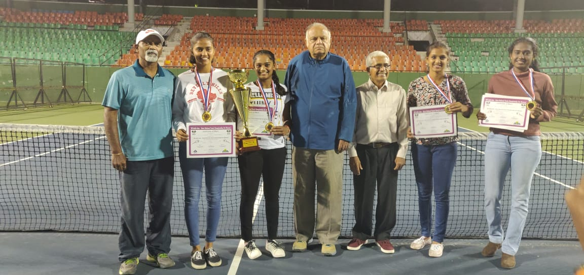 Karnataka emerged as the champion in the National Inter-State women's tennis championship