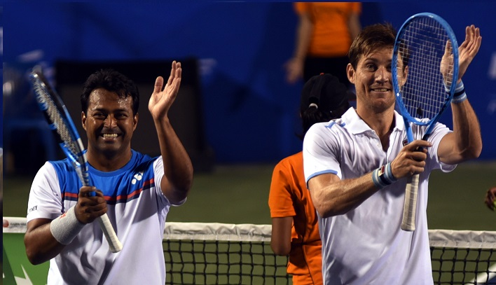 Paes in doubles final two more seeds crash at Bengaluru Open